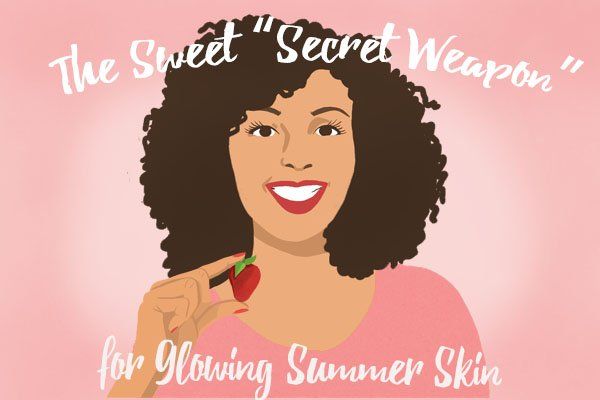 """The Sweet """"Secret Weapon"""" for Glowing Summer Skin"""