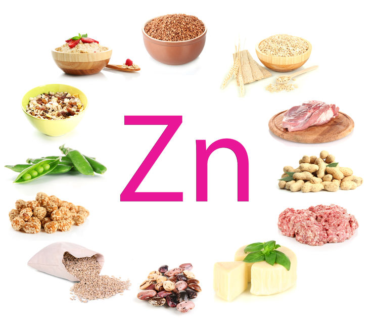 zinc oxide found in food