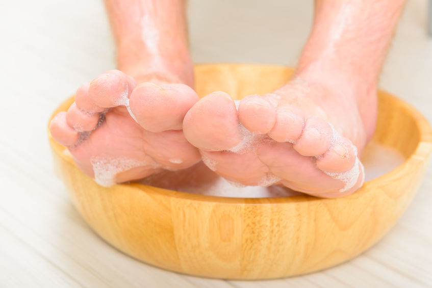 toenail and feet hygiene