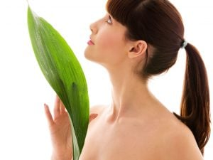 green vegetables fresh skin