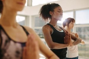 women in yoga class | Beverly Hills MD
