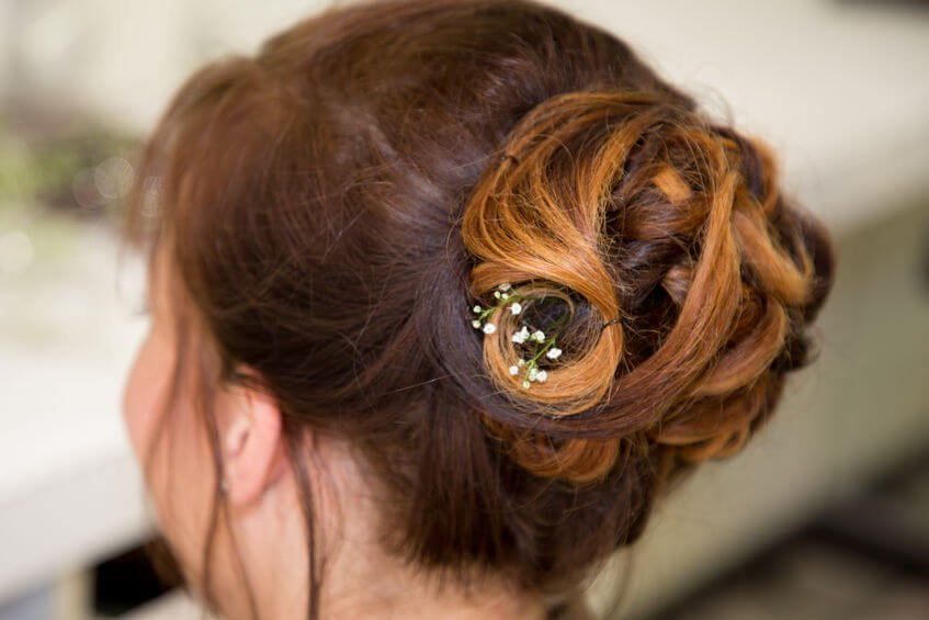 Easy Updo Hairstyles For Medium-Length Hair: Perfect For Second-Day Hair