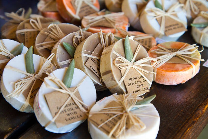 hand made gift soaps