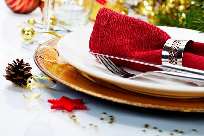holiday table settings | Beverly Hills MD