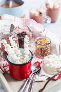 hot chocolate bar | Beverly Hills MD