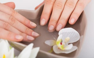 soaking nails in water | Beverly Hills MD