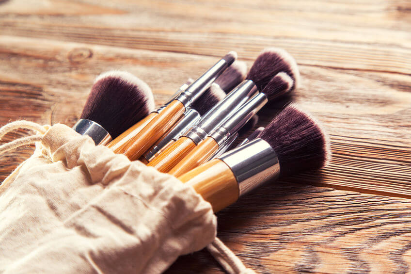 natural makeup brushes | Beverly Hills MD