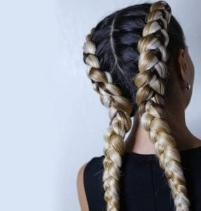 dutch braids | Beverly Hills MD
