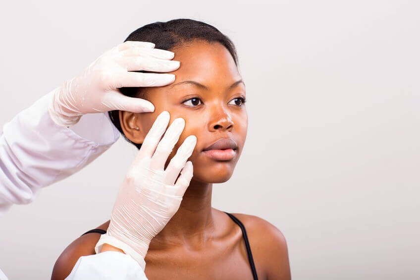 woman at dermatologist | Beverly Hills MD