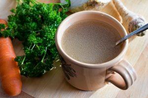 mug of bone broth | Beverly Hills MD