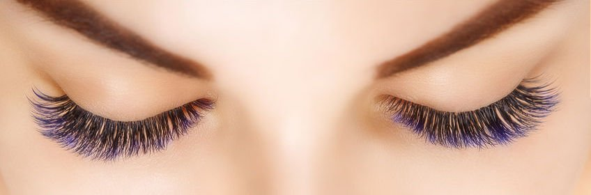 colorful eyelashes | Beverly Hills MD
