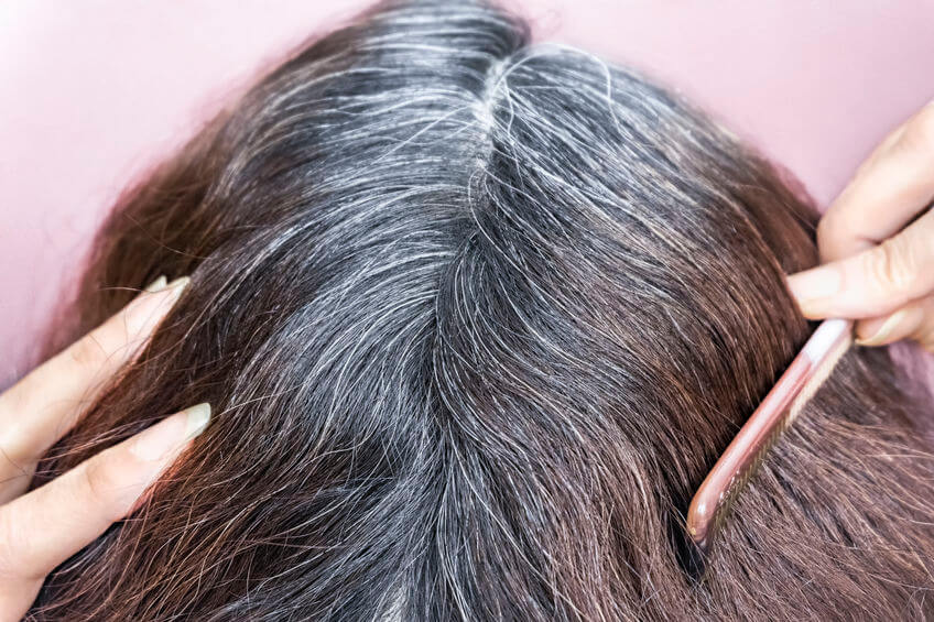 graying hair | Beverly Hills MD