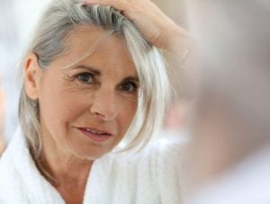 woman with gray hair | Beverly Hills MD