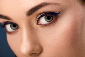 blue eyeliner | Beverly Hills MD