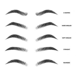 eyebrow shapes   BHMD