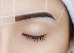 eyebrow shaping   Beverly Hills MD